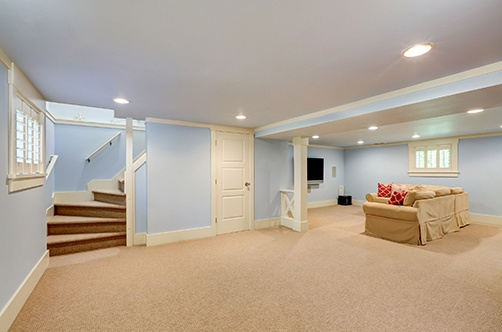 finished basement in St. George, UT
